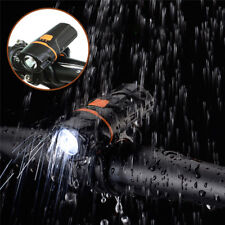 USB Rechargeable MTB Bike Bicycle Flashlight LED 1000 Lumen Bike Waterproof Pro