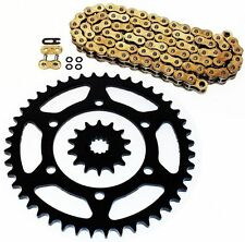 2013-2014 Kawasaki EX300A Ninja 300 Gold O Ring Chain and Sprocket 14/41 520-106