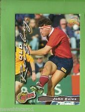 1996 RUGBY UNION  CARD #34 JOHN EALES, QUEENSLAND  REDS