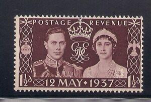 GB-Off. in Morocco   1937   Sc # 439   Coronation   MNH   (5048)