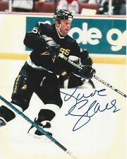8x10 Autographed  Dave Gagner Dallas Stars S030