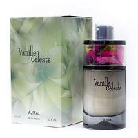 Vanille Celeste by Ajmal EDP 75ml Women Vanilla Jasmine Orchid Orange Cedar