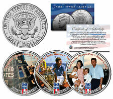 JOHN F KENNEDY First Family 2014 50th Anniversary JFK Half Dollar US 3-Coin Set