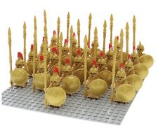 Roman Soldier Minifigure Army, Spartans Firs Lego