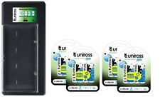 UNiROSS UNIVERSAL AA/AAA/C/D/PP3 BATTERY CHARGER+ 16 x AA (R6) 800 mAh BATTERIES