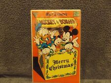 Gladstone Walt Disney's Mickey Mouse & Donald Duck Merry Christmas Free Shipping