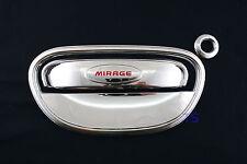Set 5 Door Bowl Handle Hand Insert Cover Mirage Space Star Hatchback 2012 15 17