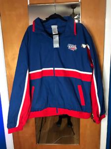 Reebok Super Bowl XXXVI Jacket - NWT - New Orleans 2002 - Football - NFL - Sz XL