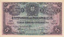 Mozambique Company Nice Paper Money (1934)