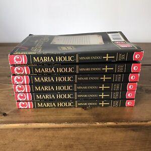MARIA HOLIC BOOK 1-6 TOKYOPOP MINARI ENDOU COMEDY ROMANCE MANGA GRAPHIC NOVEL
