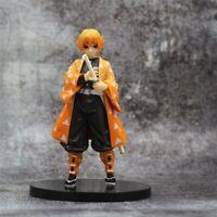 """Demon Slayer: Kimetsu No Yaiba Agatsuma Zenitsu 5.5"""" Action PVC Figure Toys BULK"""