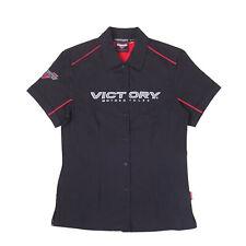 Victory Motorcycle New OEM Women/'s Grey /& White Marl Trucker Hat 2863621