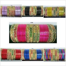 Indian Fashion Bangles Multicolor Trendy Bollywood Choora Bracelets Sets