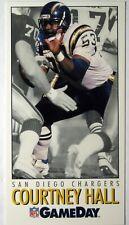 1992 GameDay Football Card #277 Courtney Hall