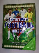 The Ultimate Football Quiz Kit Everything You Need For A Quiz Night Inc Answers