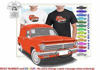 CLASSIC 63-65 EH HOLDEN VAN ILLUSTRATED T-SHIRT MUSCLE RETRO SPORTS