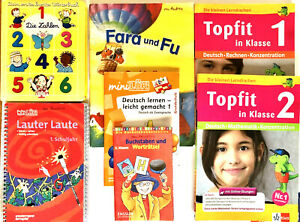 Children's German Language Learning Books - 7 Book Lot - Assorted Levels