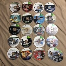 Xbox 360 Wholesale Disc Only 20 Game Lot ($95 Value)