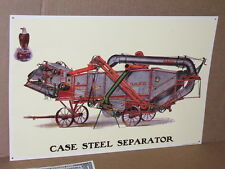 CASE STEEL SEPARATOR -with Eagle World Logo -BIG EMBOSSED SIGN Shows the Details