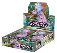 Pokemon Card Game Sun & Moon Expansion Pack Miracle Twin Booster BOX From Japan