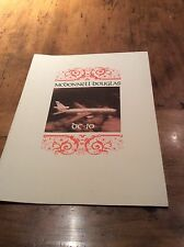 MCDONNELL DOUGLAS VINTAGE DC 10 IN HOUSE REPORT MANUAL RARE