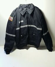 Spiewak United States Fire Uniform Jacket Mens Size XL Long Thinsulate