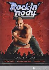 Rockin' Body : w/Rock It Out, Hard-Core Abs & Booty Time! (DVD, 2008 )