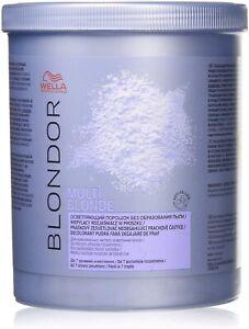 Wella Blondor Multi Blonde Bleach Powder 800g FREE P&P