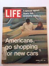 American's Go Car Shopping Life Magazine, October 8, 1971