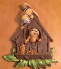 Homeco Chipmunk Wall Hanging From 1977 Dart, Ind.