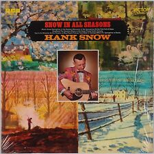 HANK SNOW: Snow in All Seasons USA Victor SHRINK Vinyl LP Country Classic VG++