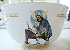 Danbury Mint Ben Franklin Signs the Declaration Independence Bicentennial Bowl