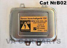 HELLA XENON FARO CENTRALINA BALLAST Alimentatore Modulo 009 000-00, 5DV009000-00
