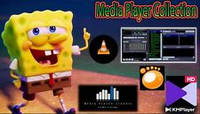 Media player software PACK FOR WINDOWS VLC GOM KM WINAMP MPC CLASSIC Audio Video