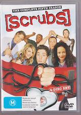 LIKE NEW scrubs season 5 (4 dvd set) R4