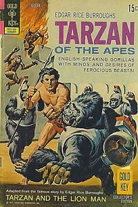 price drop! TARZAN OF THE APES NO 206 GOLD KEY 1972 BRONZE AGE  selectvintage