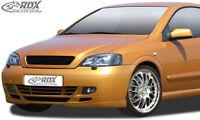 RDX Frontspoiler OPEL Astra G Coupe / Cabrio Front Spoiler Lippe Vorne Ansatz
