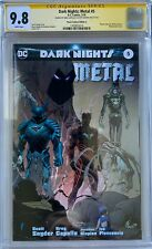Dark Nights: Metal #5 CGC 9.8 Signature Series ~Planet Comic Convention A~L@@K!