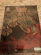Lamb Of God Ashes Of The Wake Recorded Versions Guitar Transcriptions and Tabs