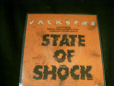 "7""Sgl.-THE JACKSONS(MICHAEL JACKSON+MIKE JAGGER)-State of Shock - Epic(1984HOLL)"