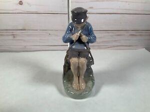 Royal Copenhagen Whittling Whittler Boy Figurine 905