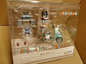 OFFICIAL YURU LAID-BACK CAMP RIN SHIMA WITH SCOOTER 1/10 FIGURE (ALTER) SEALED