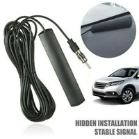 Hidden Antenna Radio Stereo AM FM Stealth for Vehicle Car Truck Motorcycle Boat-