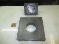 """#56: 3-3/4"""" round P&D, 1-1/2"""" shank, 9"""" x 9"""" bed area"""