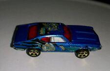 Mattel Hot Wheels Blue Sports Car Unknown Cartoon character Manga Anime Rare htf