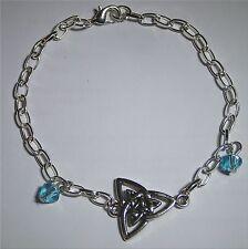 Bracelet Charmed symbole triquetra Pouvoir des 3 soeurs Charmed celtic bracelet