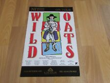 WILD Oats NT on Tour 1995 Andrew Sachs & Bolam LYCEUM Theatre SHEFFIELD Poster