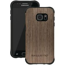 Ballistic Urbanite Select Samsung Galaxy S7 Case - Dark Ash Wood