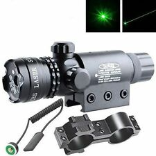 Green laser sight outside adjust For rifle gun scope remote switch 2 mounts Y97