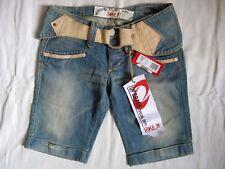 Take Two Lavega Blue Jeans Shorts w27 X-low waist regular fit short leg Women